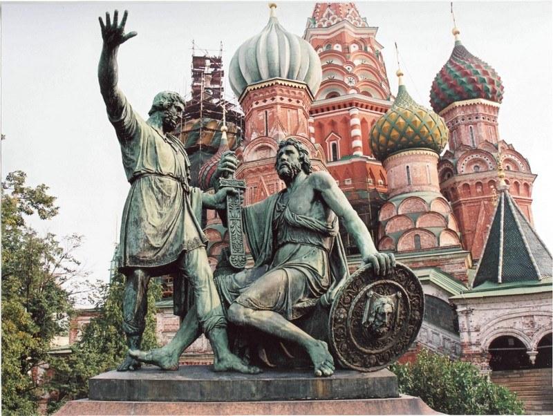 История памятника минину и пожарскому в москве цены на памятники в пензе элитные